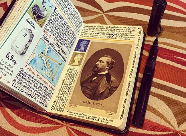 illustrations carnets croquis jose naranja 5 - Les Carnets de Croquis de cet Artiste sont des Oeuvres d'Art