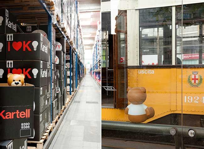 TOY Moschino Kartell, TOY Moschino Kartell, une Adorable Collection de Mobilier Design