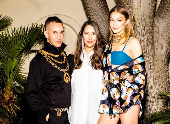 moschino tv hm collection gigi hadid, Collection Décalée pour Moschino TV x H&M avec Gigi Hadid
