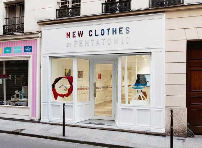 pentatonic boutique paris france, Pentatonic Recycle les Invendus de la Mode et Ouvre sa Boutique à Paris