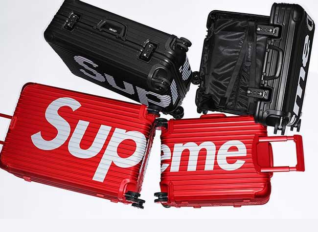 Valises Bagages Supreme RIMOWA, Supreme, les Nouveaux Bagages en Alu de RIMOWA