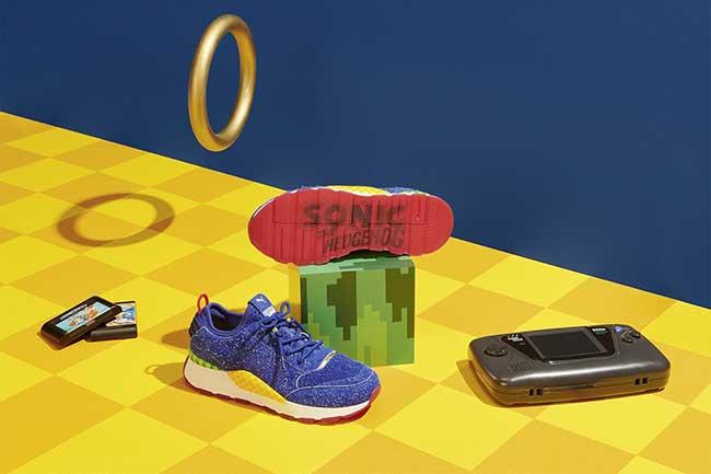 baskets sega puma sonic dr eggman, Baskets PUMA x SEGA pour les Accros des Jeux Videos
