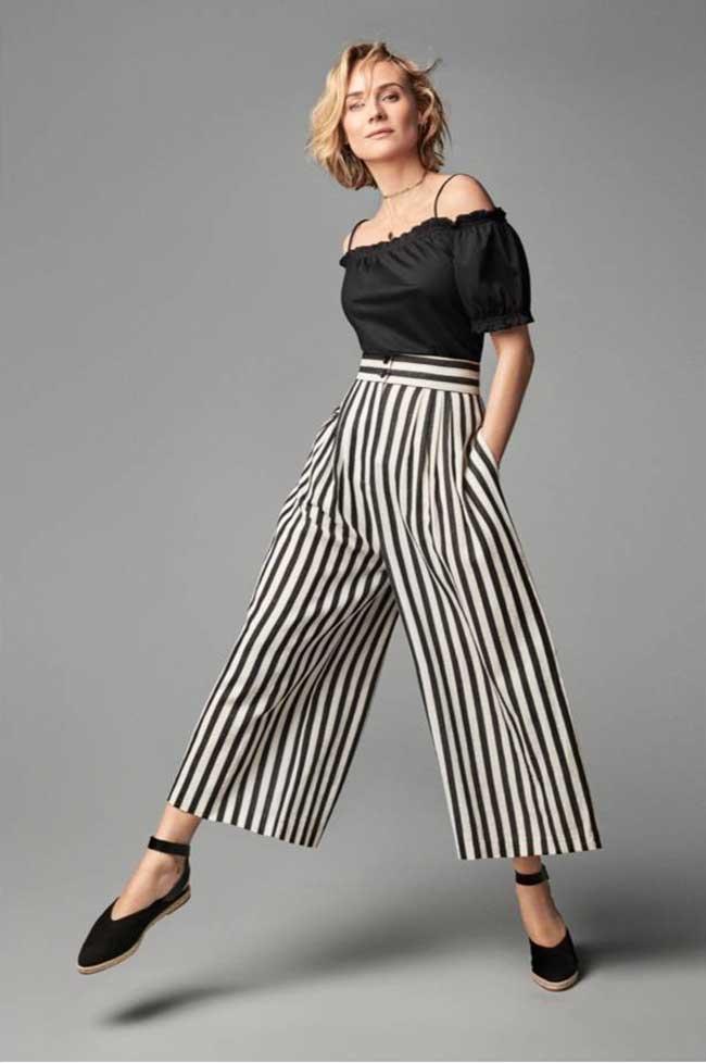 diane kruger hm mode ete 2018, Pour H&M la Comédienne Diane Kruger Joue la Styliste cet Eté