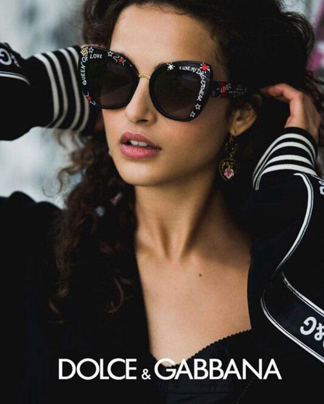 dolce gabbana lunettes soleil dggraffiti eyewear, Des Graffitis sur les Lunettes de Soleil Dolce Gabbana
