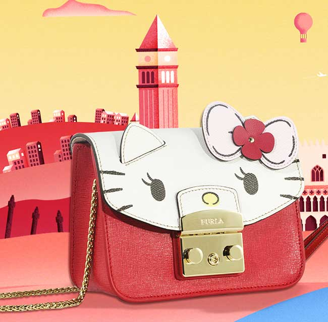 furla hello kitty sacs accessoires collection