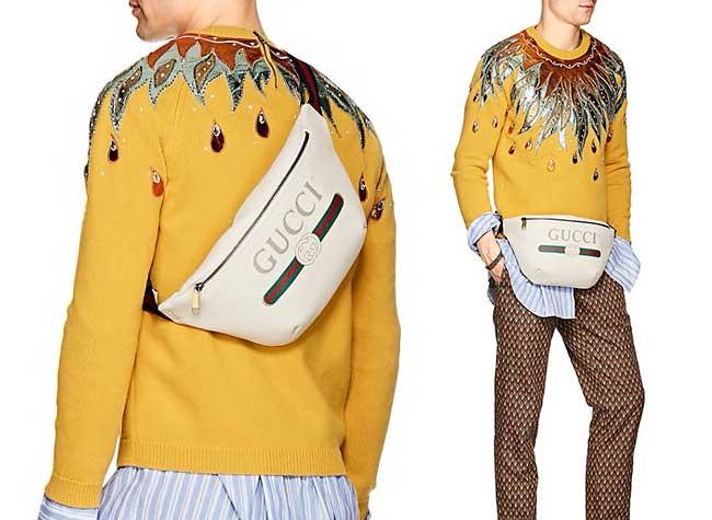 gucci sac banane, Gucci a son Sac Banane en 5 Parfums s'il vous Plait !