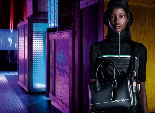 prada femme pre fall 2018 campagne industreality, Direction l'Usine Imaginaire pour la Femme Prada Pre-Fall