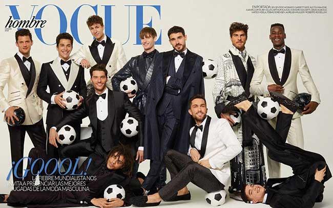 vogue homme influenceurs dolce gabbana football, Les Millennials de Dolce Gabbana se Mettent au Football