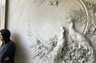 yoga tandashvili bas relief nature sculptures