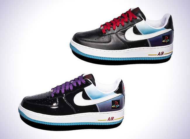 Force 1 'air Playstation' Nike X Les Joueurs Maxitendance Baskets Pour mNwn0v8
