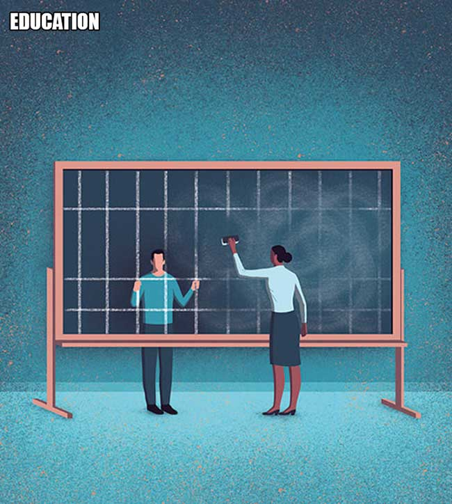 davide bonazzi, Illustrations Cyniques d'une Société Moderne par Davide Bonazzi