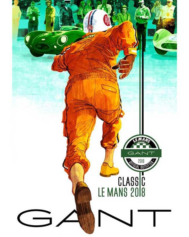 gant 24h mans femme homme campagne, La Femme et l'Homme Gant Font les 24H du Mans