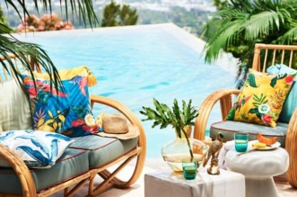 hm home maison couleurs tropicales