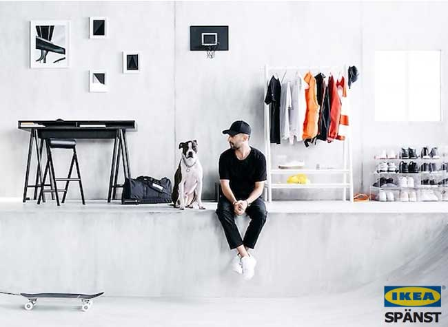 ikea spanst collection pret a porter vetements streetwear