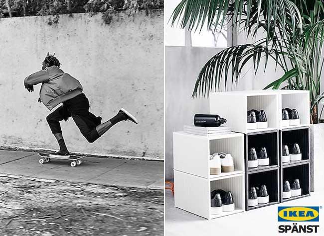 ikea spanst collection pret a porter vetements streetwear, IKEA SPÄNST, 1ere Collection de Vêtements Streetwear