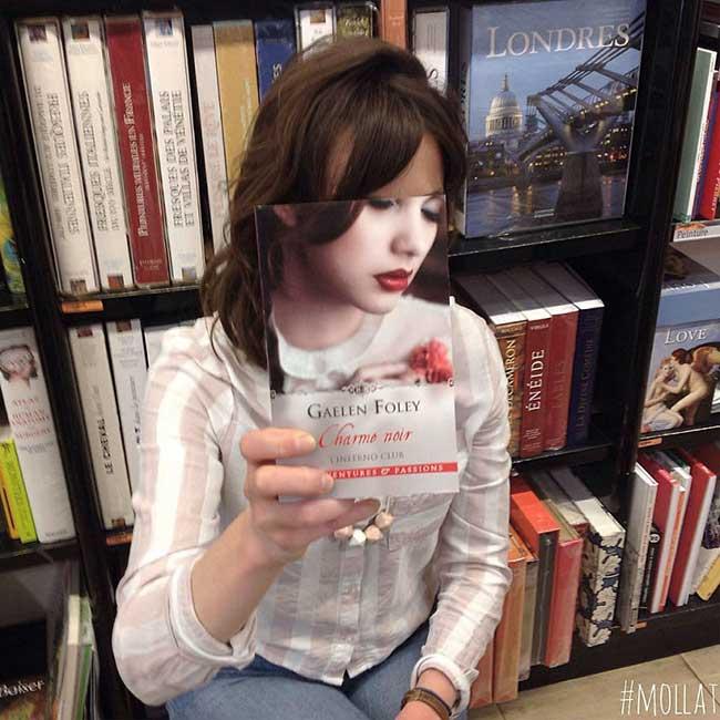 librairie mollat france livres bookface, Les Clients de cette Librairie Continuent à Jouer au Bookface