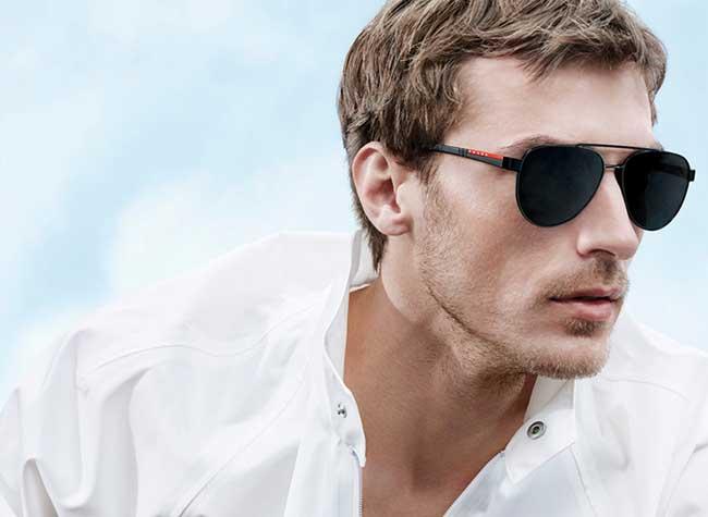 lunettes soleil montures homme prada linea rossa