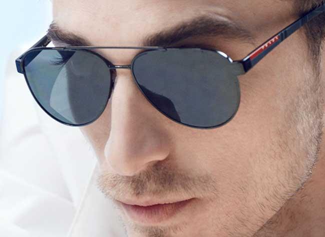 lunettes soleil montures homme prada linea rossa, Intemporelles les Lunettes de Soleil Prada Homme Linea Rossa