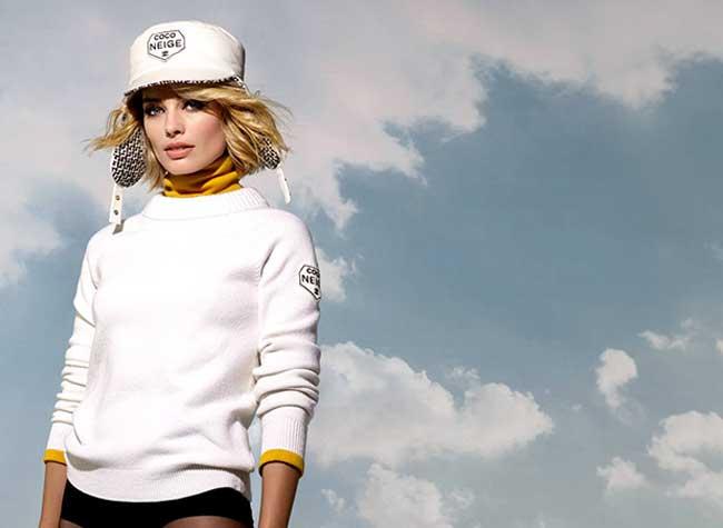 margot robbie chanel coco neige, Margot Robbie, Reine des Neiges pour Chanel Coco Neige