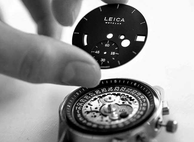 montre leica watch luxe prix disponibilite mecanique, Leica Watch des Montres Non Connectées à 10000 Euros