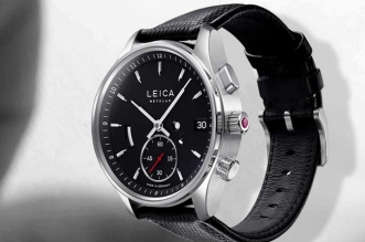 montre leica watch luxe prix disponibilite mecanique