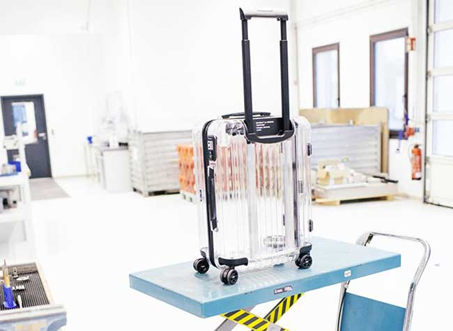 rimowa off white valise transparente virgil abloh