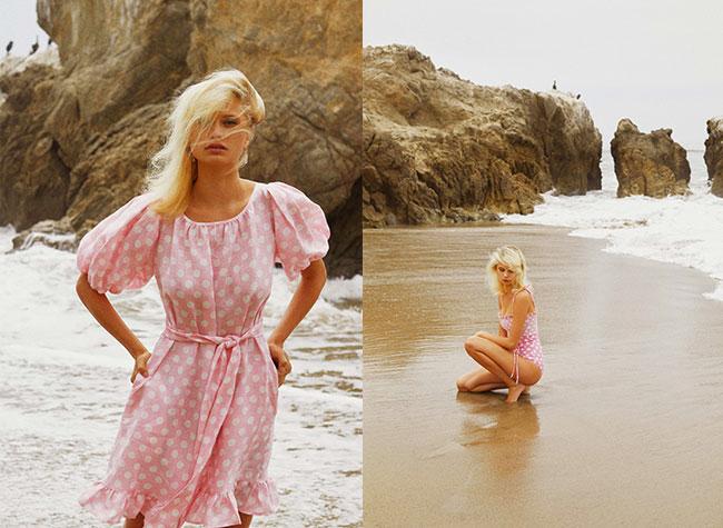robes maillots bain lisa marie fernandez, Maillots de Bain et Robes à Pois chez Lisa Marie Fernandez cet Eté