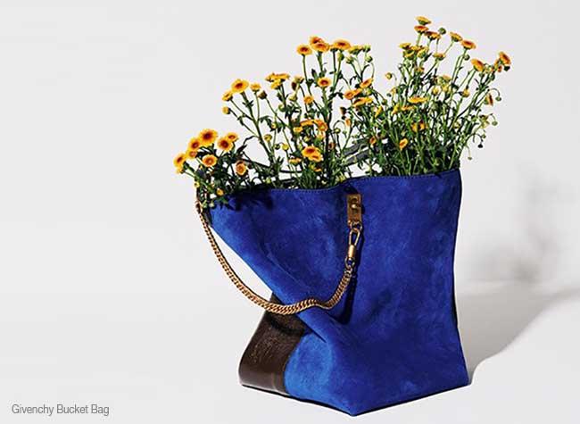sacs luxe jardiniere detournes plantes fleurs, MilkX Transforme les Sacs de Luxe en Pot de Fleurs