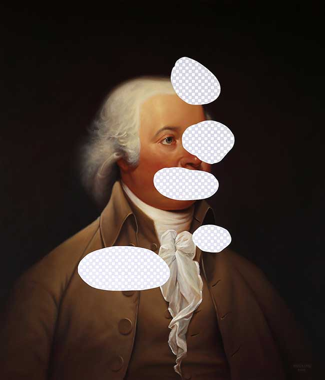 shawn huckins peinture acrylique photoshop