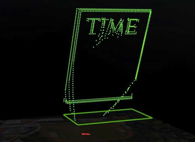 time magazine couverture intel drones 3 - 958 Drones pour une Couverture Aérienne du Time Magazine