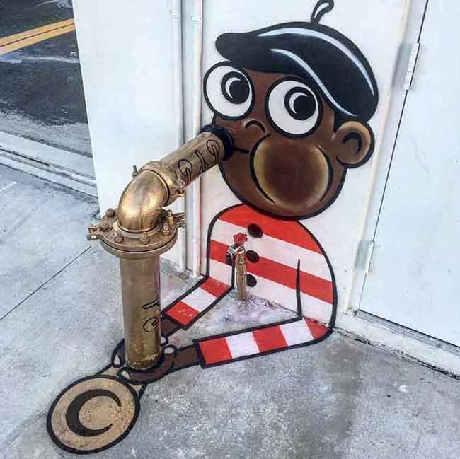tom bob street art new york city, Retour de Tom Bob le Plus Amusant des Street Artistes