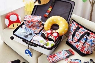 accessoires valises voyage mario nintendo