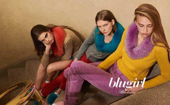 blugirl campagne automne hiver 2018 2019, Blugirl pour un Hiver Retro et Cozy à New York City