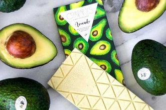 compartes tablette chocolat blanc avocats