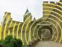 concentric peinture anamorphose carcassonne felice varini