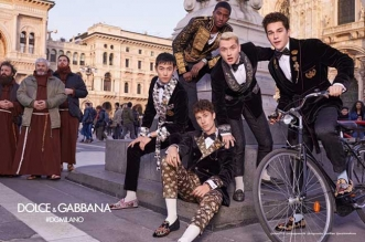 dolce gabbana homme hiver 2018 2019 campagne