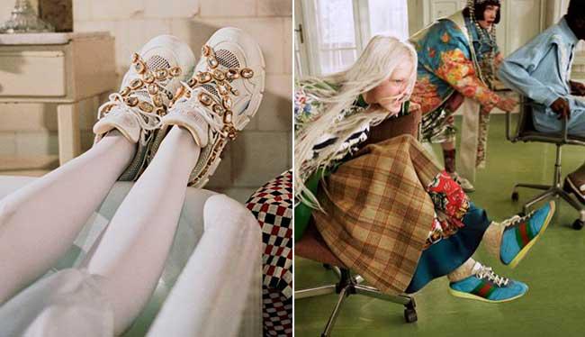 gucci collectors campagne hiver 2018 2019, L'Hiver Prochain Gucci Invite les Collectionneurs