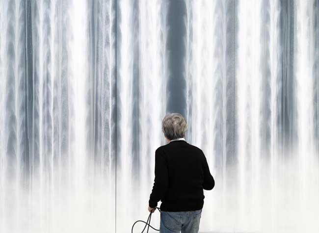 hiroshi sensu peintures cascades