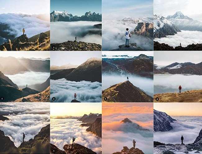 instarepeat deja vu photo instagram copie duplique 3 - Sur Instagram tout le Monde Fait les mêmes Photos de Voyage (images)
