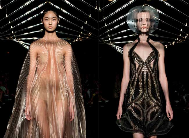 iris van herpen syntopia robes couture cinetique 2 - Syntopia, Robes Haute Couture Cinétiques et Dynamiques
