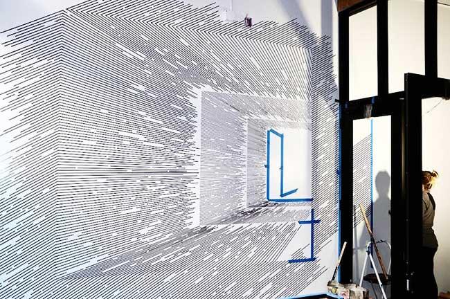 katy ann gilmores art mathematique illusion optique 3 - Mathématiques les Illusions d'Optiques de cette Artiste