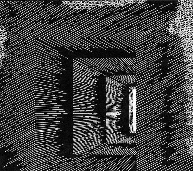 katy ann gilmores art mathematique illusion optique 5 - Mathématiques les Illusions d'Optiques de cette Artiste
