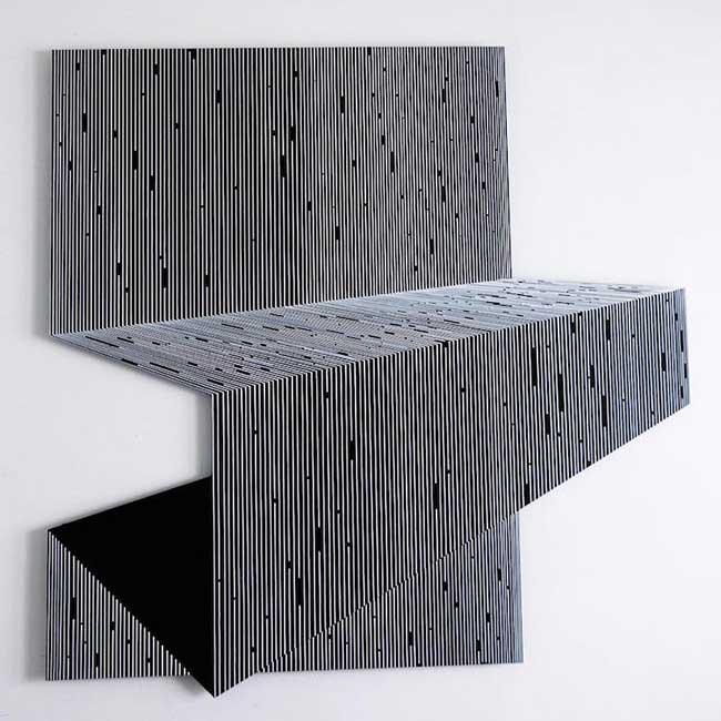 katy ann gilmores art mathematique illusion optique 7 - Mathématiques les Illusions d'Optiques de cette Artiste