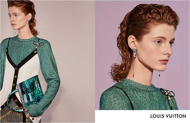 louis vuitton campagne femmes hiver 2018 2019, Pour la Femme Louis Vuitton c'est un Hiver Studieux en Studio