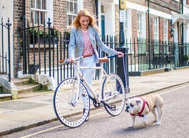 urbanizedbikes velo sans chambre air entretient roues solides 3 - Urbanized Bikes, le Velo Urbain à Roues Solides et Increvables