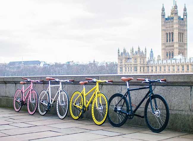 urbanizedbikes velo sans chambre air entretient roues solides 5 - Urbanized Bikes, le Velo Urbain à Roues Solides et Increvables
