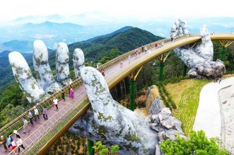 vietnam ba na mains geantes pont
