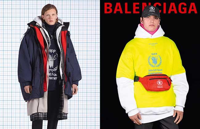 balenciaga hiver 2018 2019 homme femme campagne, L'Hiver Prochain Balenciaga en Remet une Couche pour Elle et pour Lui