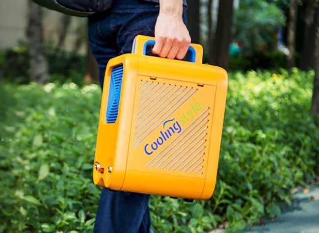 climatiseur portable mobile petit multifonctions 1 - CoolingStyle, le plus Petit des Climatiseurs Portables (video)