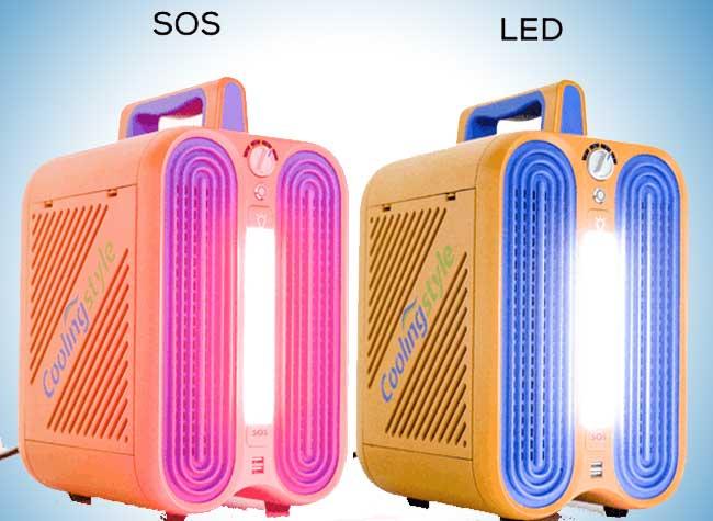 climatiseur portable mobile petit multifonctions 3 - CoolingStyle, le plus Petit des Climatiseurs Portables (video)